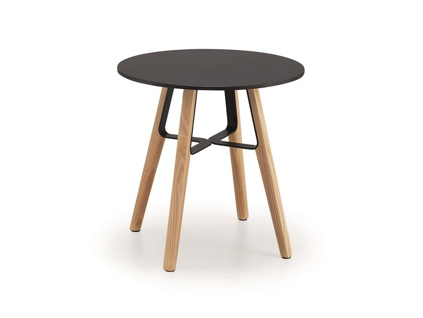 Round HPL coffee table LIÙ CT by Midj