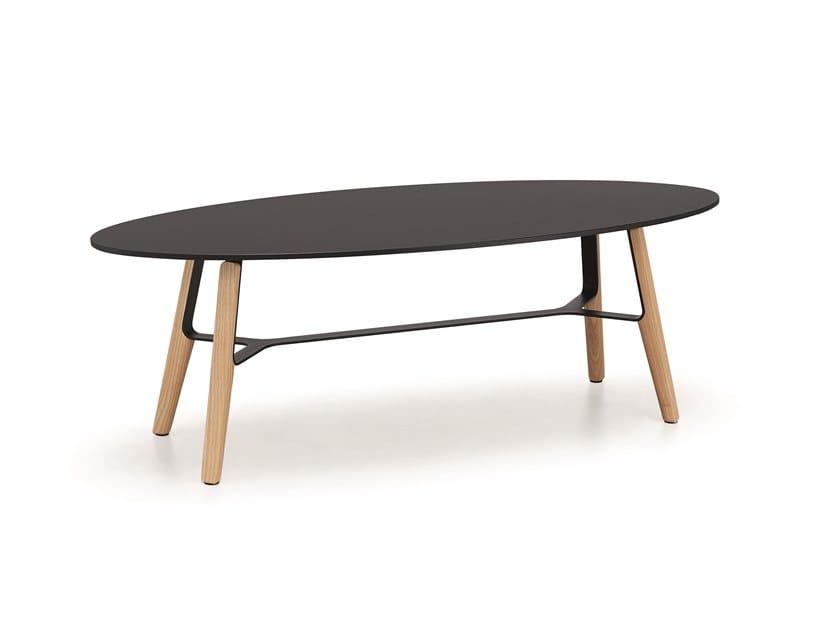 Tavolino ovale in HPL LIÙ CT | Tavolino ovale by Midj