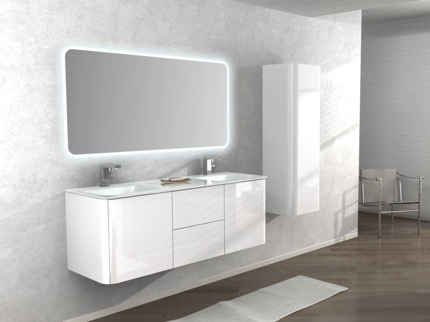 Double wall-mounted vanity unit LIVERPOOL by Remail by G.D.L.