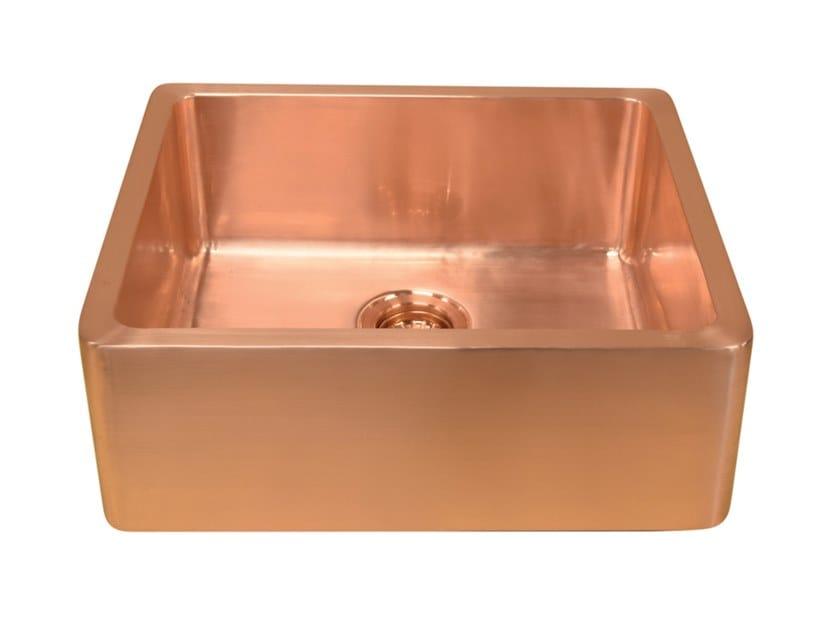 Lavello a una vasca in rame LIVIA | Lavello a una vasca by BLEU PROVENCE