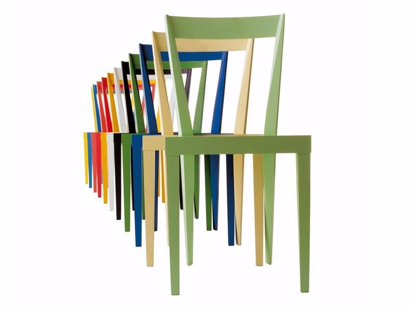 Wooden chair LIVIA | Wooden chair by Cizeta L'Abbate