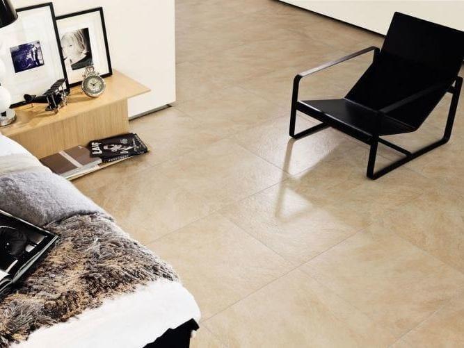 Flooring with stone effect LIVINGSTONE GLACIER by tubadzin