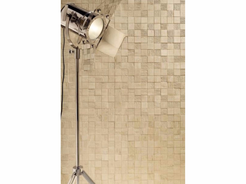 Indoor wall tiles with stone effect LIVINGSTONE TRAVERTINE   Wall tiles by tubadzin