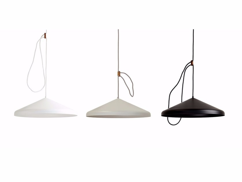 LED adjustable metal pendant lamp LLOOP XL by Vij5