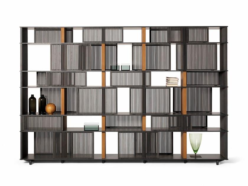 Oak Bookcase Lloyd By Poltrona Frau