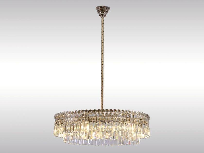 Lampada a sospensione in cristallo in stile classico LOBMEYR-CHANDELIER by Woka Lamps Vienna