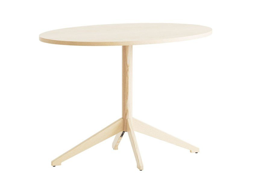 Oval wood-product table LOCUS | Oval table by Karl Andersson