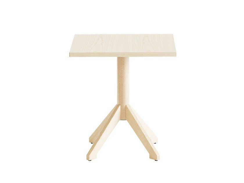 Square wood-product coffee table LOCUS | Square coffee table by Karl Andersson