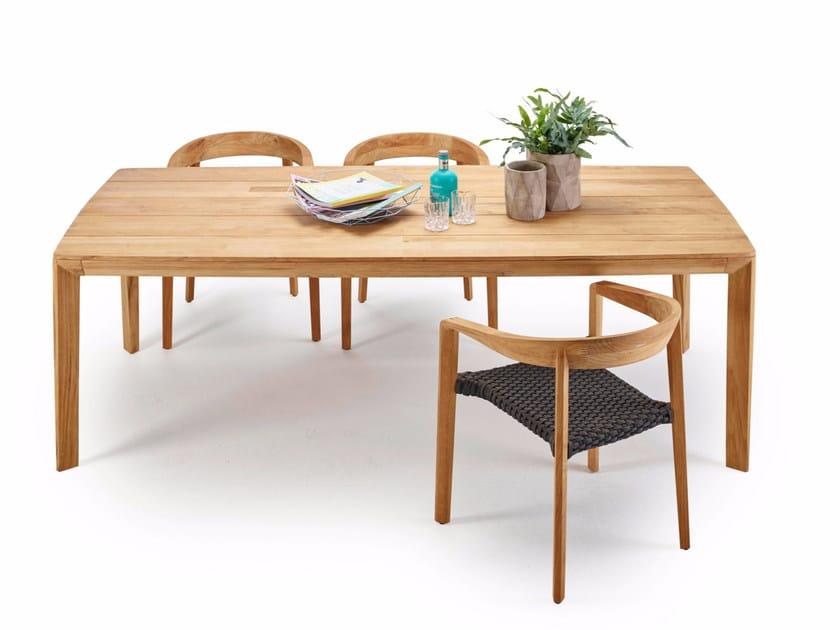 Lodge tavolo in teak collezione lodge by solpuri design klaus