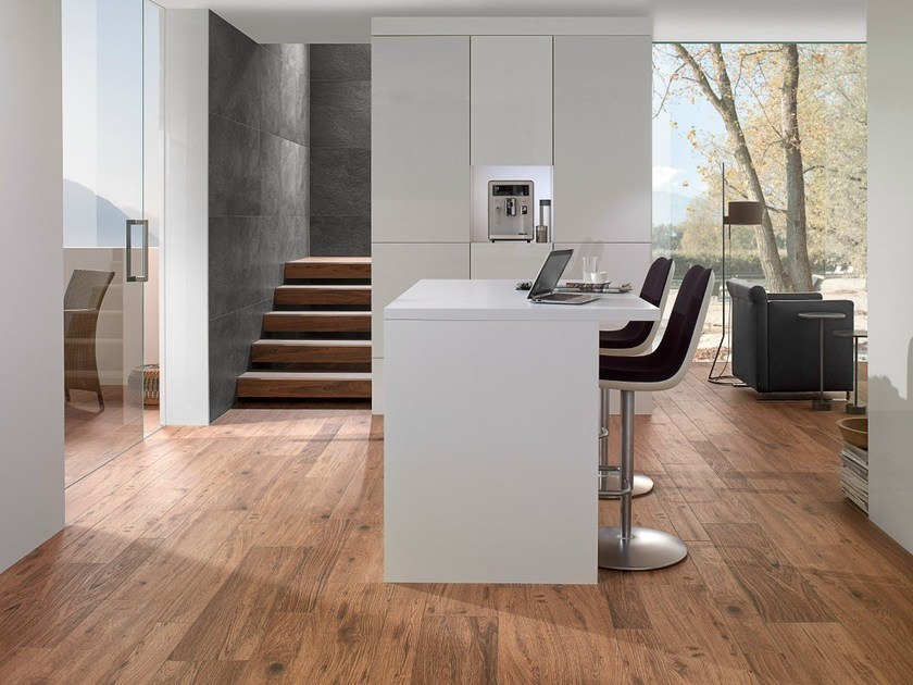 Porcelain Stoneware Flooring With Wood Effect Lodge