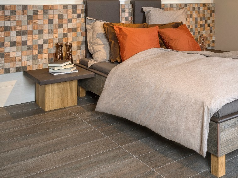 Indoor porcelain stoneware wall tiles with wood effect LODGE WALL by Villeroy & Boch Fliesen