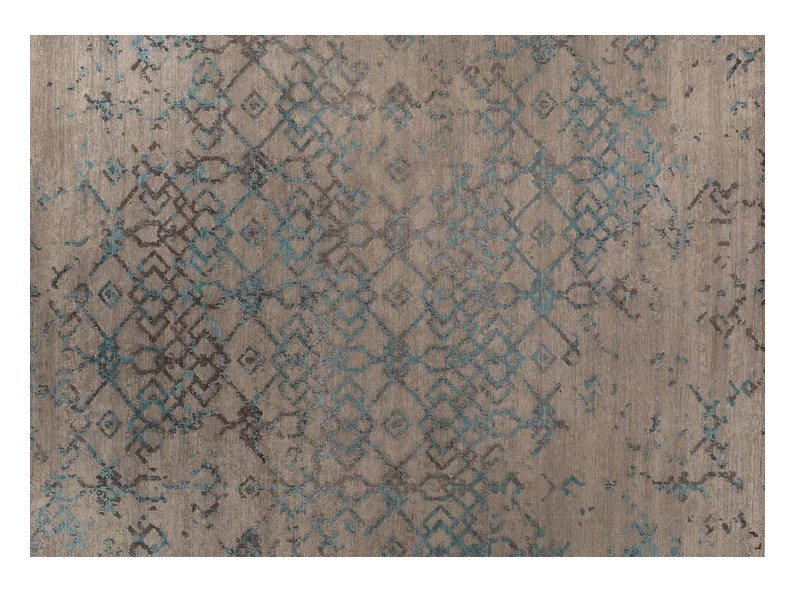 Rectangular Bamboo silk rug LOFT 174A by Mohebban