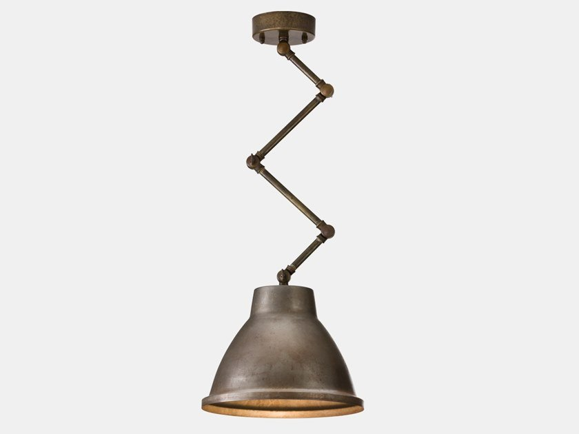 Adjustable metal pendant lamp LOFT 269.02.OF/269.03.OF/269.04.OF by Il Fanale