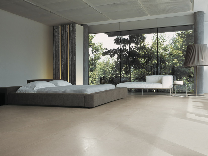 Porcelain stoneware flooring with concrete effect LOFT by Casalgrande Padana