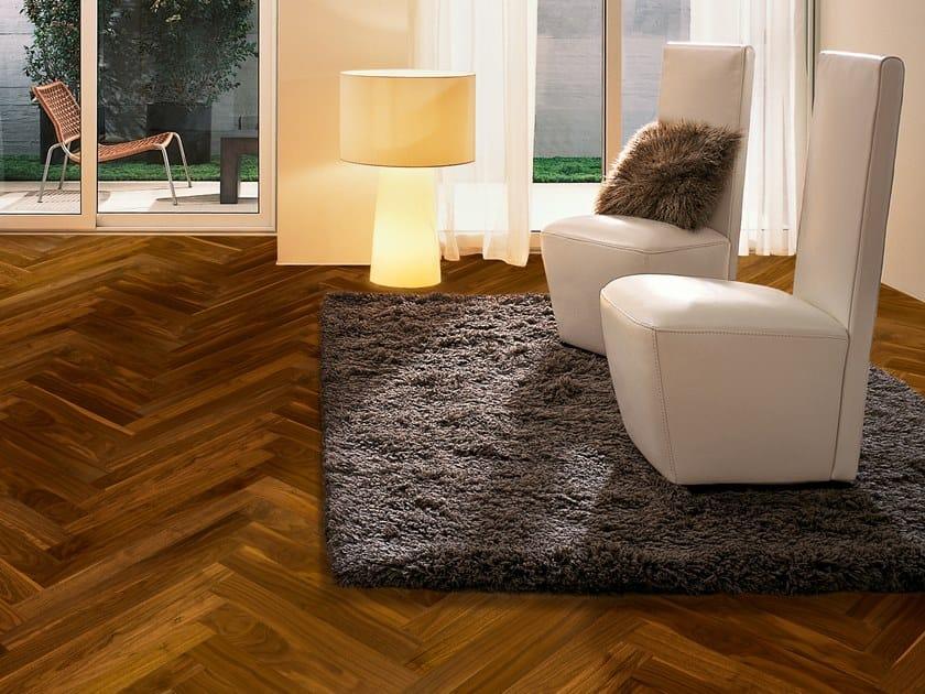2 layers prefinished walnut parquet LOFT CLASSIC by Unikolegno