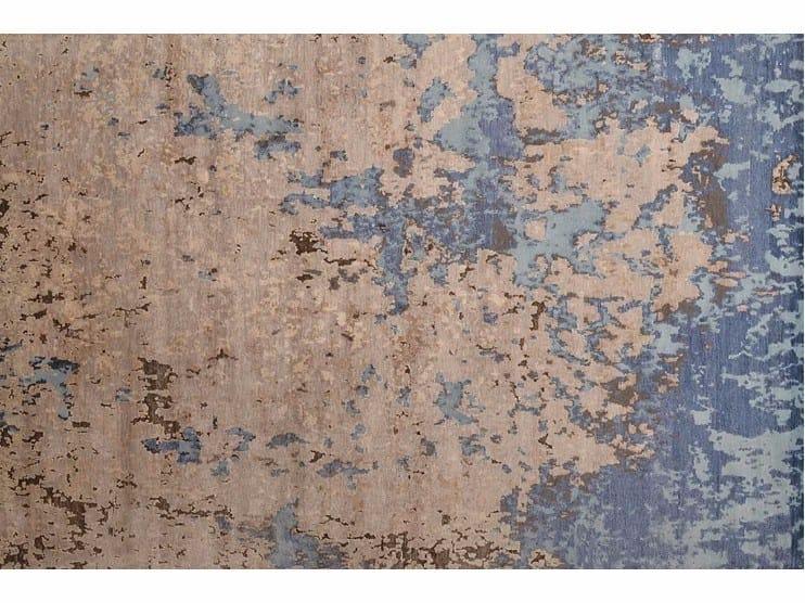 Rectangular bamboo fibre rug LOFT L172A by Mohebban
