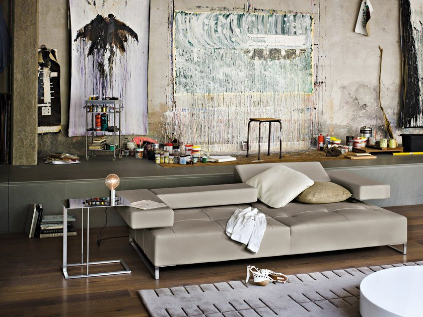 loft leather sofa loft collection by arketipo design adriano piazzesi