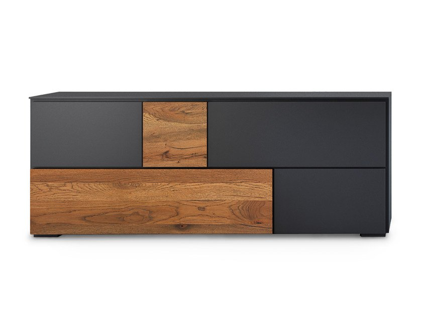 Lacquered wooden sideboard LOFT WILD | Sideboard by Oliver B.