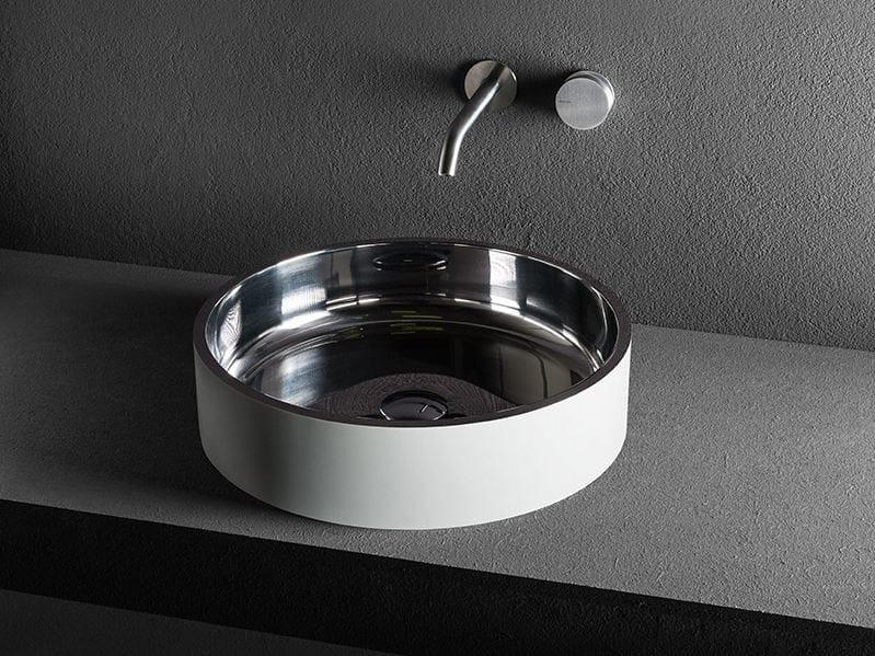 Countertop washbasin LOG 11 by MAKRO