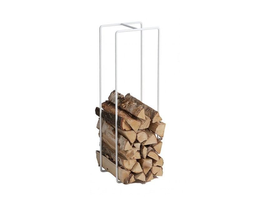 Metal Log Holder MIXRACK | Log Holder By SHOWROOM Finland