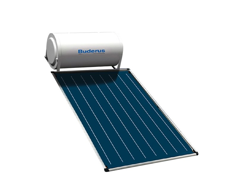 Natural circulation Solar heating system LOGASOL TSS by BUDERUS