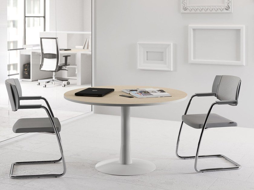 Round meeting table OXI | Round meeting table Oxi Collection By Las ...