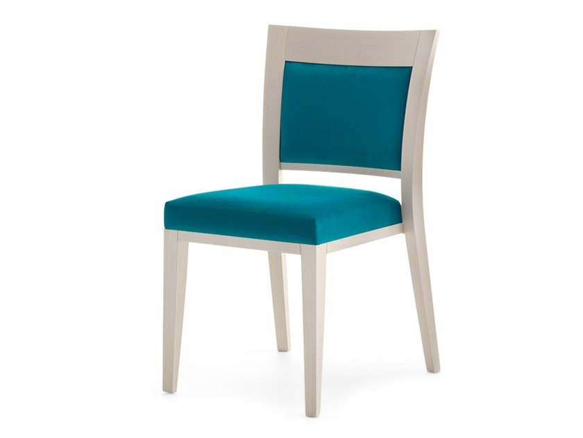 Upholstered chair LOGICA 00917 by Montbel