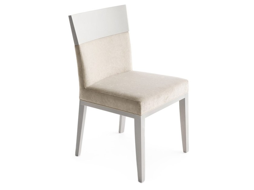 Upholstered chair LOGICA 00930 by Montbel