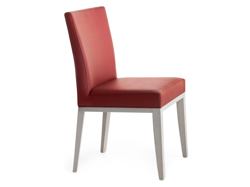 Upholstered chair LOGICA 00934 by Montbel