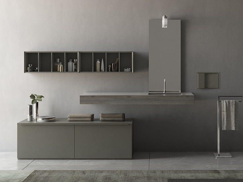 Sistema bagno componibile LOGICO - Composizione 1 by INDA®