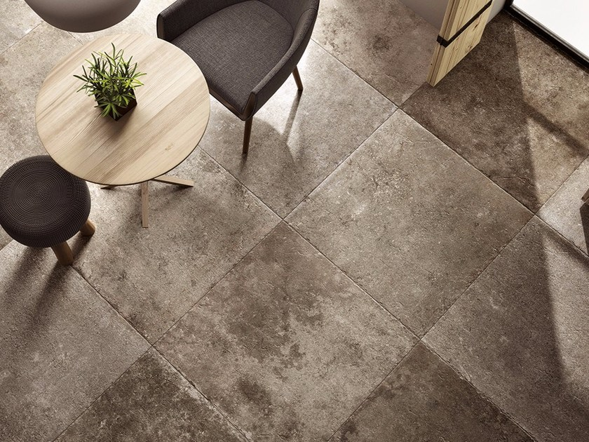 Flooring with stone effect LOIRE by Ceramiche Coem