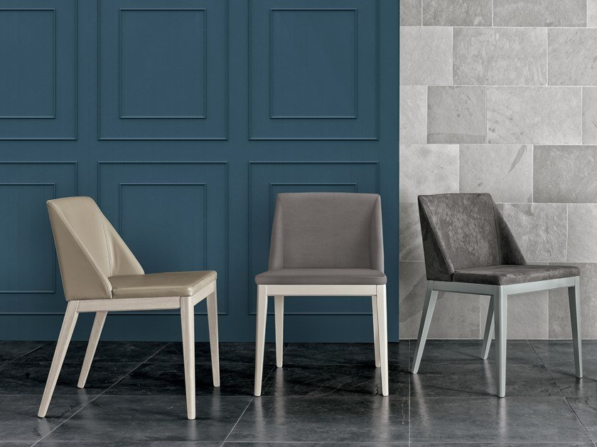 Upholstered chair LOLITA by Gruppo Tomasella