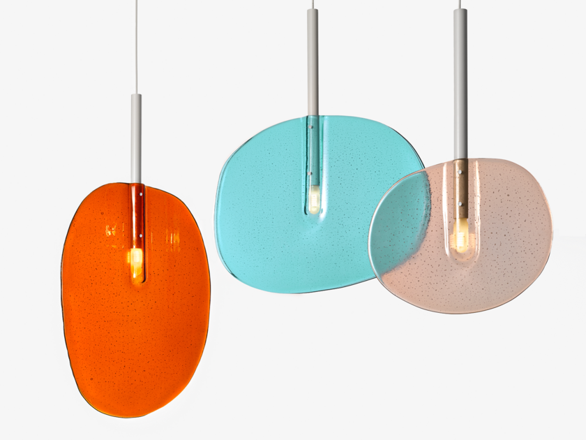 Stained glass pendant lamp LOLLIPOP | Pendant lamp by Lasvit