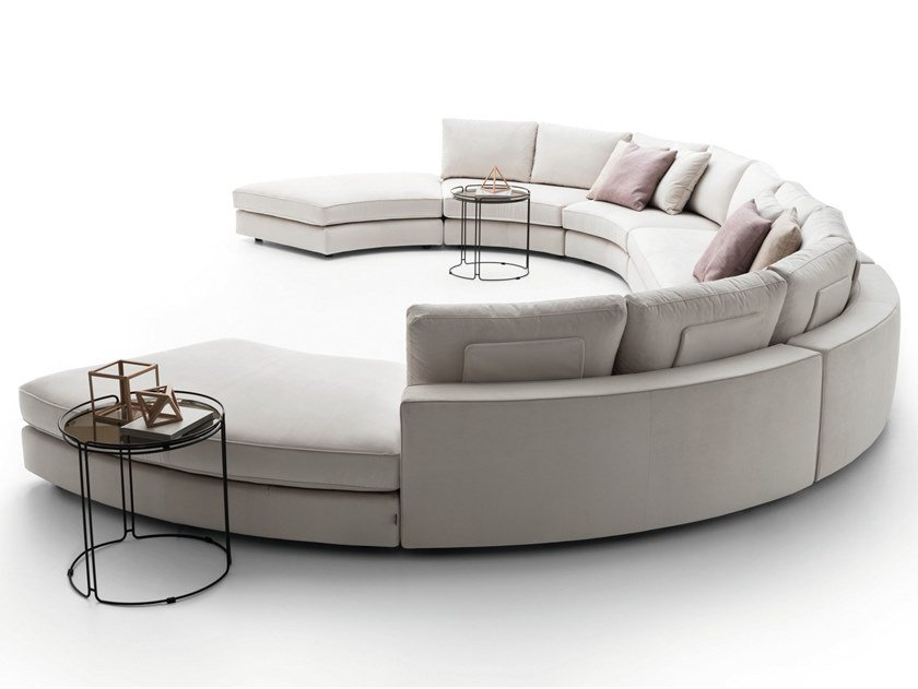 Loman Curved Sofa By Ditre Italia