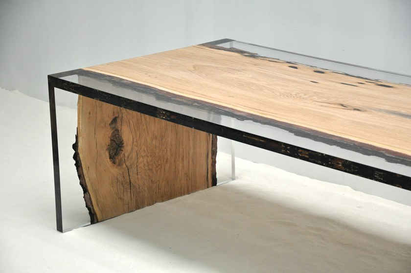 resin and oak table london by azimut-resine
