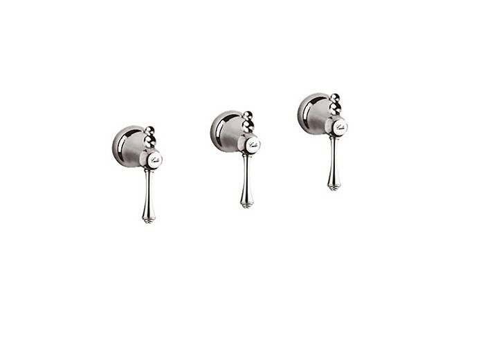 3 hole shower tap with diverter LONDRA - 7216W2 by Rubinetteria Giulini