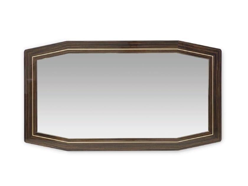 Framed wall-mounted mirror LONG BEACH LUX | Mirror by Tonino Lamborghini Casa