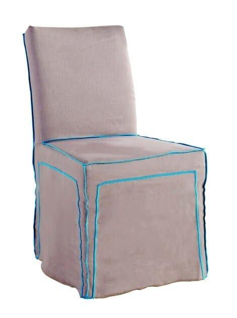 Fabric chair LONG ISLAND by ROCHE BOBOIS