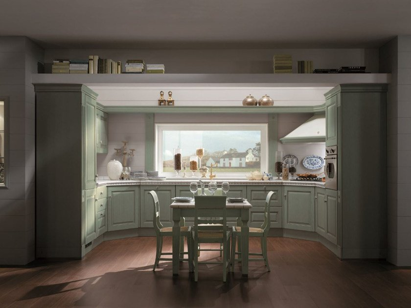 Fitted kitchen LONG ISLAND by Scavolini