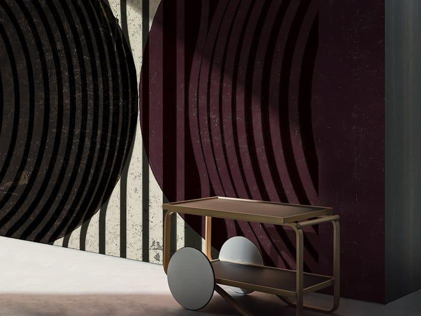 Striped wallpaper LONG PLAY by Wall&decò