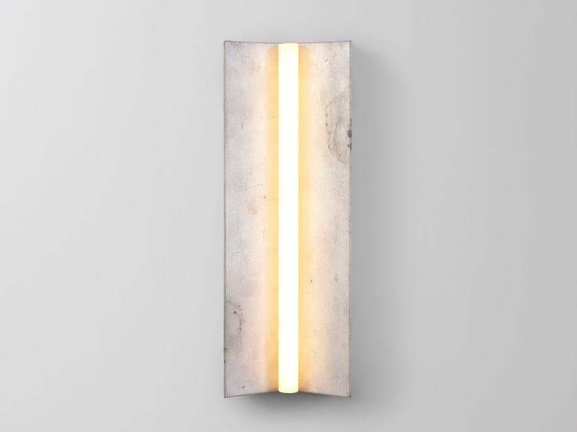 Aluminium sconce LONGTON ALUMINIUM by Volker Haug Studio