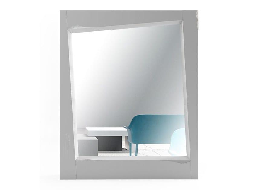 Rectangular framed mirror LOOK | Rectangular mirror by Adriani e Rossi edizioni