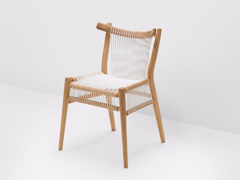 Oak chair LOOM   Oak chair by H Furniture