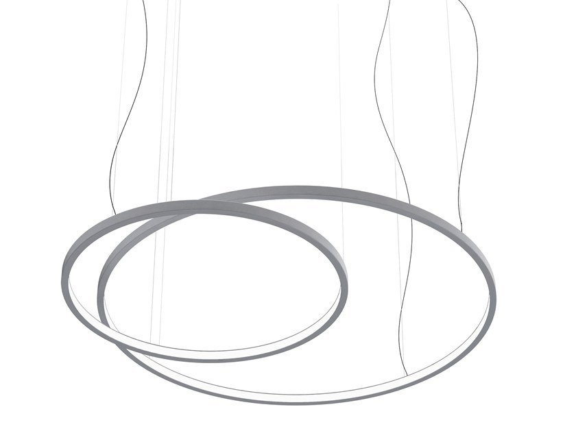LED pendant lamp LOOP by Martinelli Luce