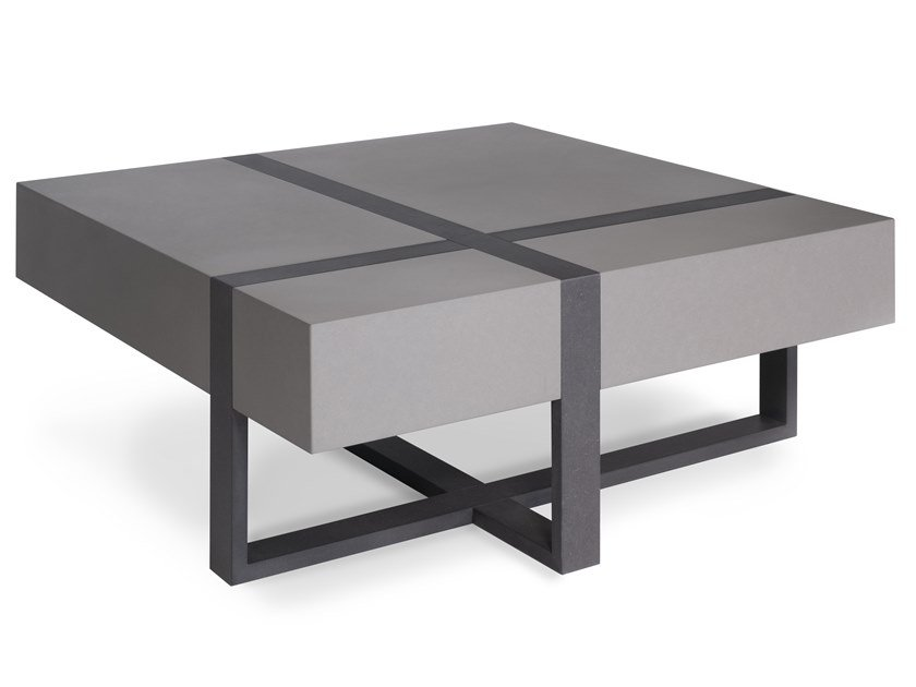 Square Valchromat Coffee Table Loop By