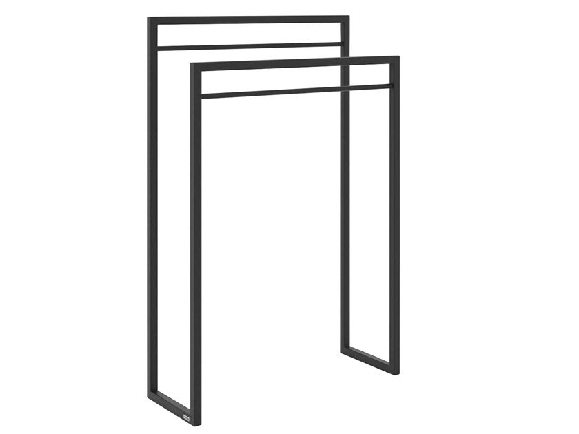 Standing powder coated steel towel rack LOOP by take me HOME