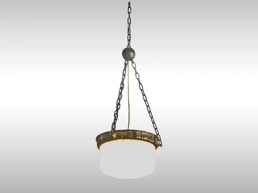 Classic style metal pendant lamp LOOSHAUS - TOPFERL by Woka Lamps Vienna