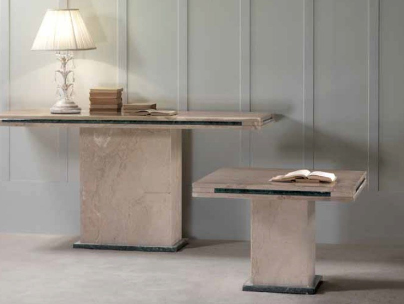 Rectangular marble coffee table LORENZO | Coffee table by International Marmi
