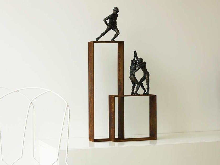 Bronze sculpture LOST IN TANGO by Gardeco