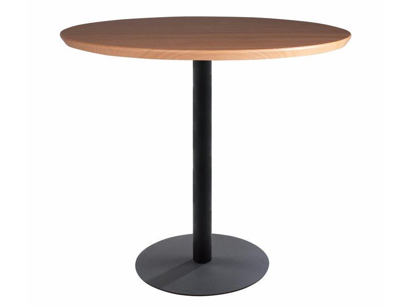 Metal table base LOTUS ROUND by Papatya